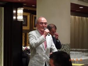 藤田顧問のご挨拶